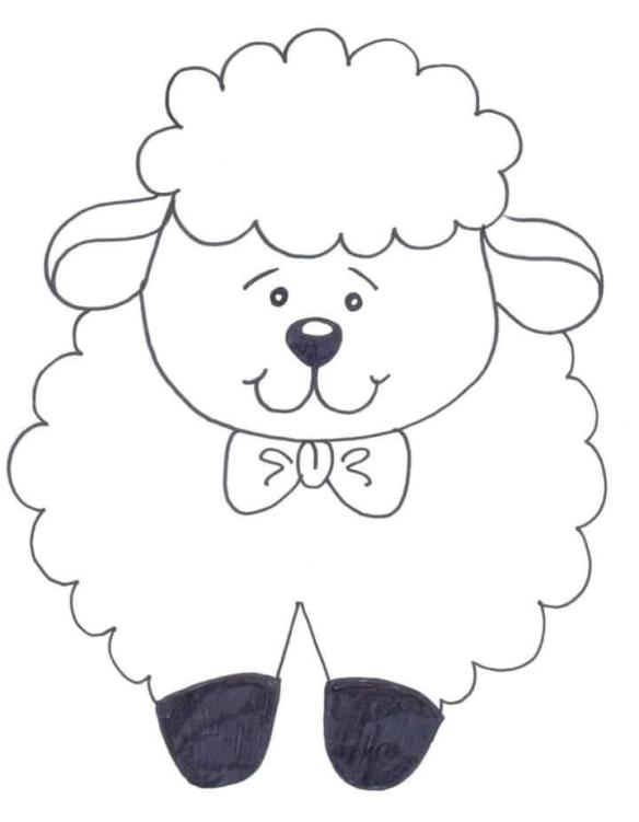 باترونات خروف العيد مدونة جنى للأطفال
